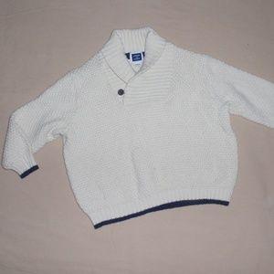 Janie and Jack Boys Shawl Sweater 12m